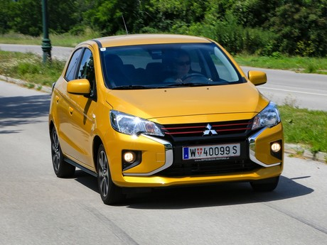 Mitsubishi Space Star Frontansicht