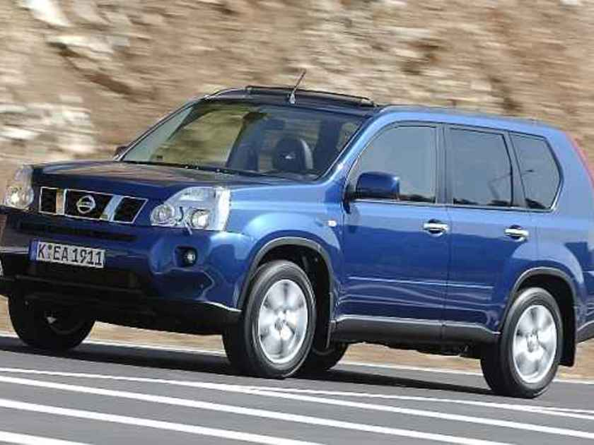 nissan x trail 2 5 se testbericht auto. Black Bedroom Furniture Sets. Home Design Ideas
