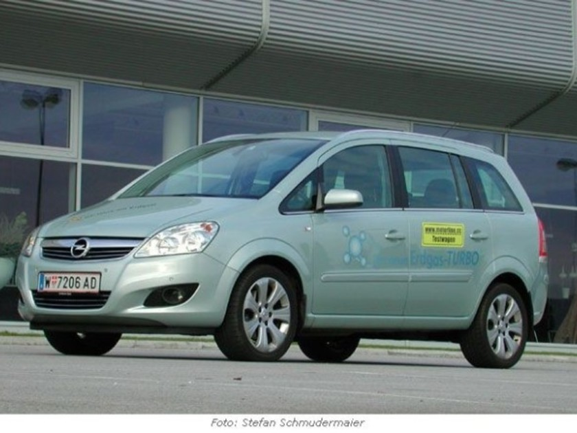 opel zafira 1 6 turbo cng erdgas antrieb im test. Black Bedroom Furniture Sets. Home Design Ideas