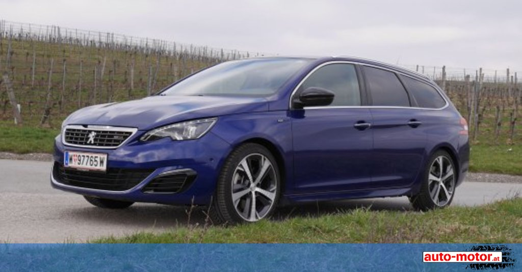peugeot 308 sw gt 2.0 bluehdi - testbericht ::: auto-motor.at :::