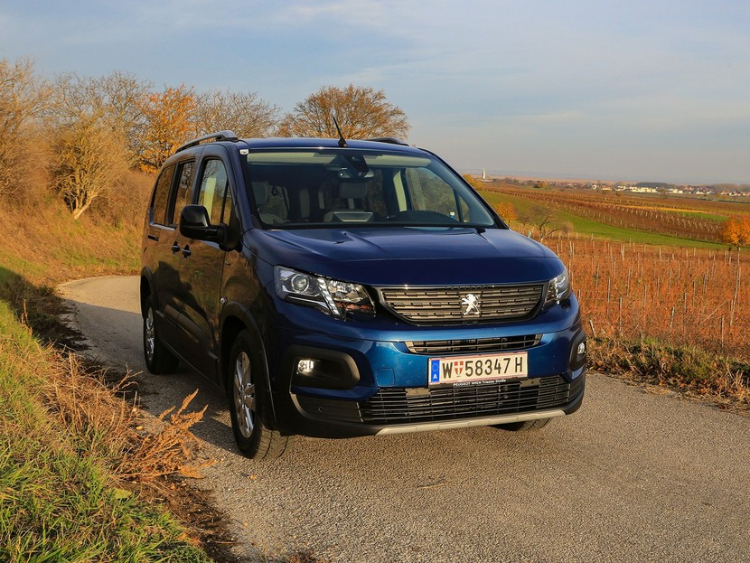 Peugeot Rifter Langversion im Test