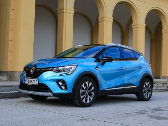 Renault Captur Intens E-TECH Plug-in 160 – Testbericht