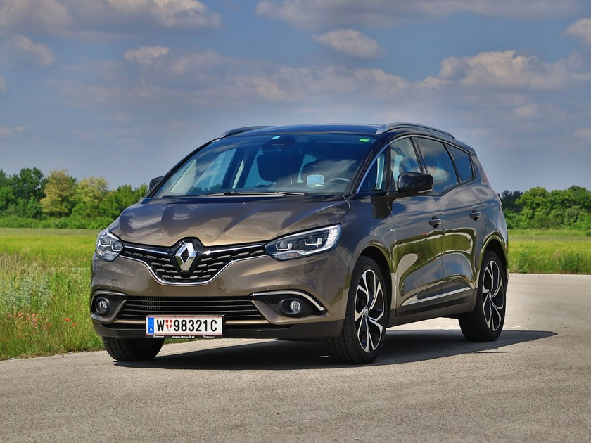 renault grand scenic 160 ps turbodiesel testbericht auto. Black Bedroom Furniture Sets. Home Design Ideas