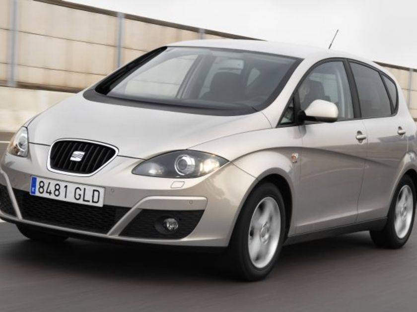 Seat altea tdi cr style test vorne