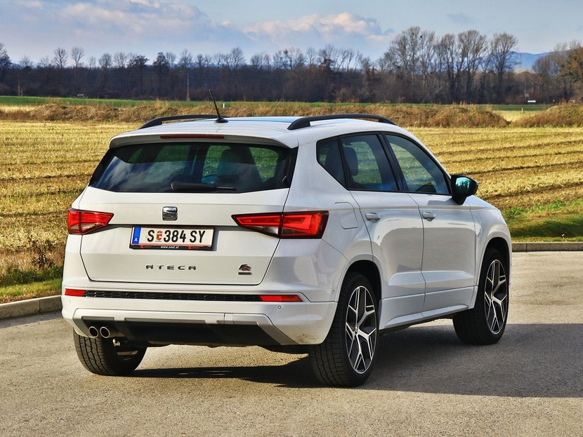 seat ateca fr 2 0 tsi testbericht auto. Black Bedroom Furniture Sets. Home Design Ideas
