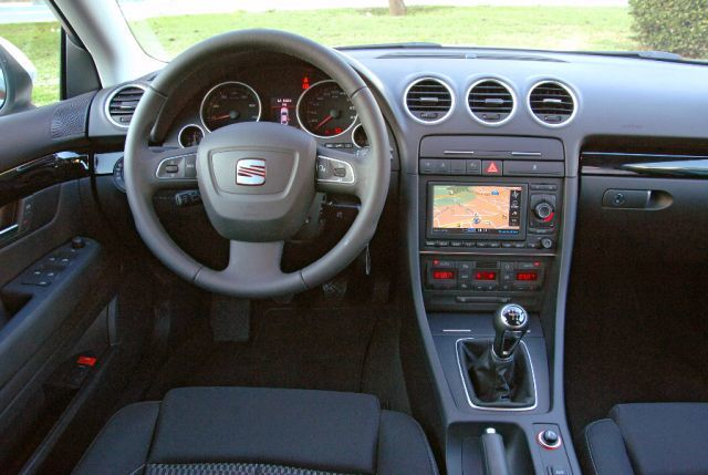 seat exeo 2 0 tdi cr style im test auto. Black Bedroom Furniture Sets. Home Design Ideas
