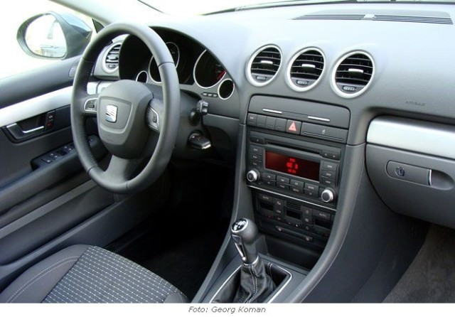 foto seat exeo st 2 0 tdi test vom artikel seat. Black Bedroom Furniture Sets. Home Design Ideas