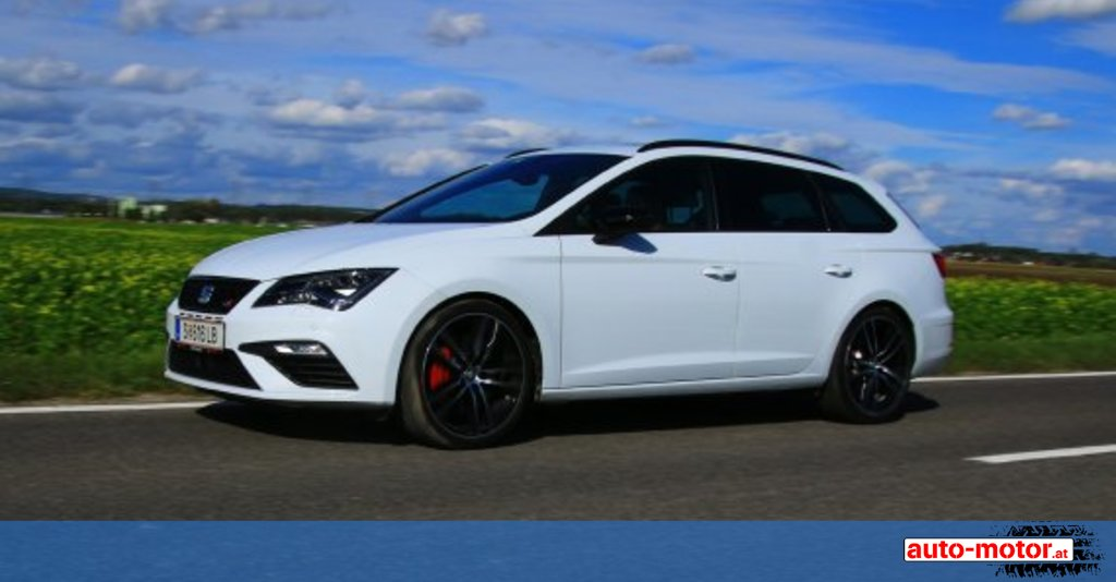 seat leon st cupra mit 300 ps - testbericht ::: auto-motor.at :::