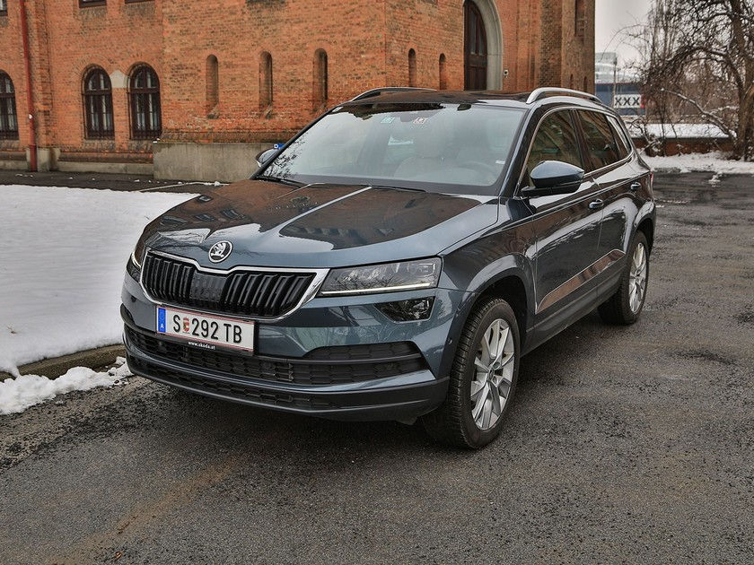 skoda karoq 150 ps tdi testbericht auto. Black Bedroom Furniture Sets. Home Design Ideas