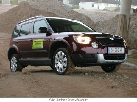 skoda yeti experience a 4x4 tdi im test auto. Black Bedroom Furniture Sets. Home Design Ideas