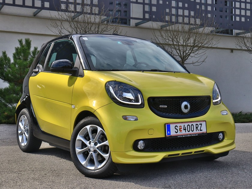 smart fortwo cabrio brabus im test auto. Black Bedroom Furniture Sets. Home Design Ideas