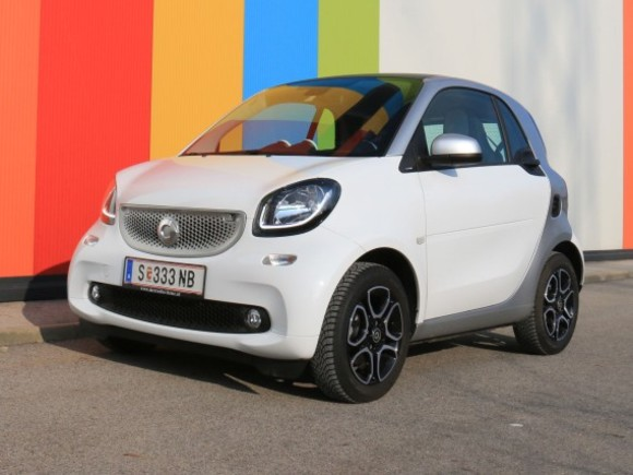 Smart fortwo 52 kW Passion twinmatic - Testbericht
