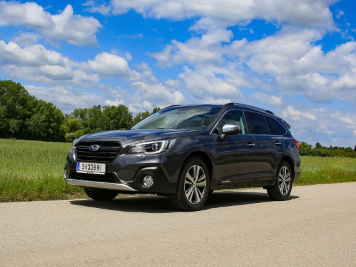 Subaru Outback 2,5i Lineartronic Selected Line – Testbericht