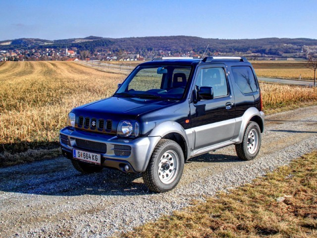 suzuki jimny testbericht auto. Black Bedroom Furniture Sets. Home Design Ideas