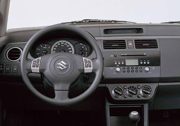 Suzuki Swift 4x4 Innen