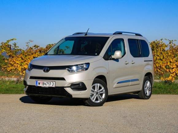 Toyota Proace City Verso Family 1,5 Diesel – Testbericht