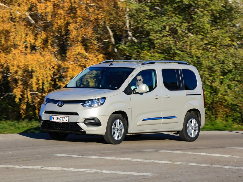Toyota Proace City Verso Frontansicht