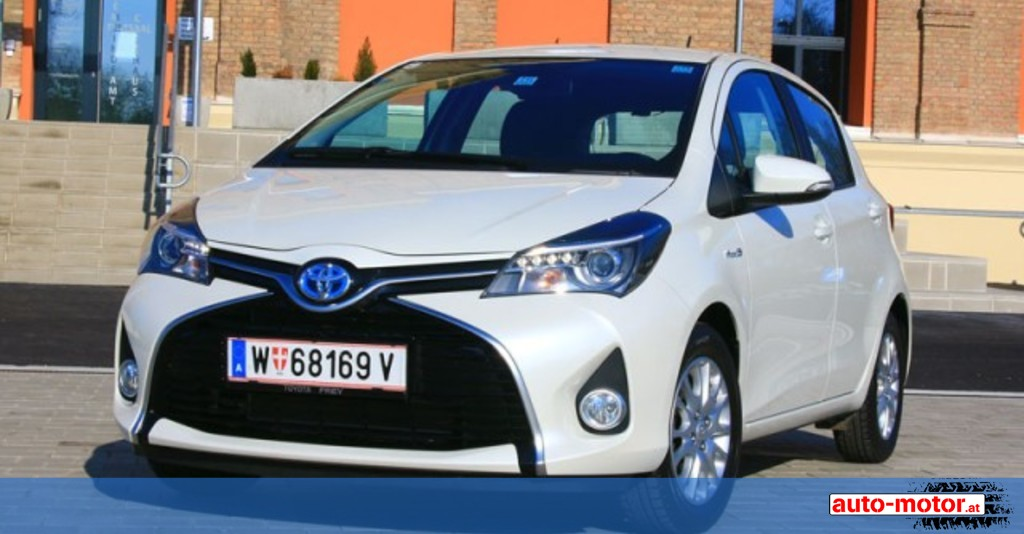 toyota yaris 1 5 hybrid testbericht auto. Black Bedroom Furniture Sets. Home Design Ideas