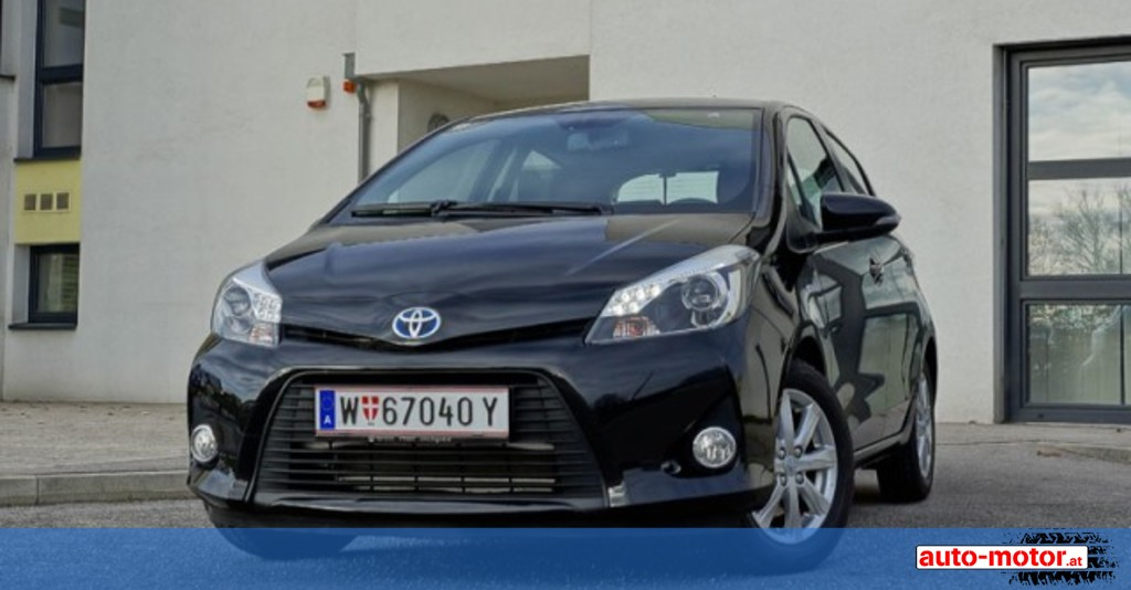 toyota yaris hybrid testbericht auto. Black Bedroom Furniture Sets. Home Design Ideas