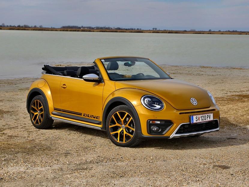 vw beetle cabrio dune testbericht auto. Black Bedroom Furniture Sets. Home Design Ideas