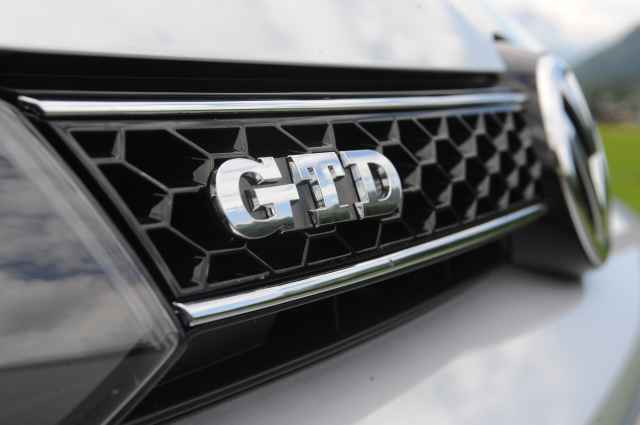Vw golf gtd test logo