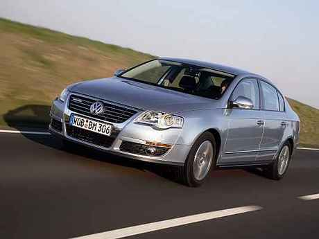 Vw passat bluemotion test vorne