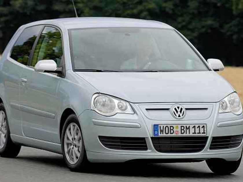 Vw polo tdi bluemotion vorne