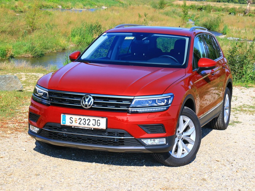 der neue vw tiguan testbericht auto. Black Bedroom Furniture Sets. Home Design Ideas