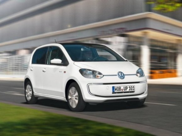VW e-up! im Crashtest