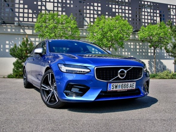 Volvo S90 D5 AWD Geartronic R-Design – Testbericht