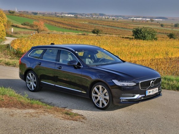 Volvo V90 T6 AWD Geartronic Inscription – Testbericht