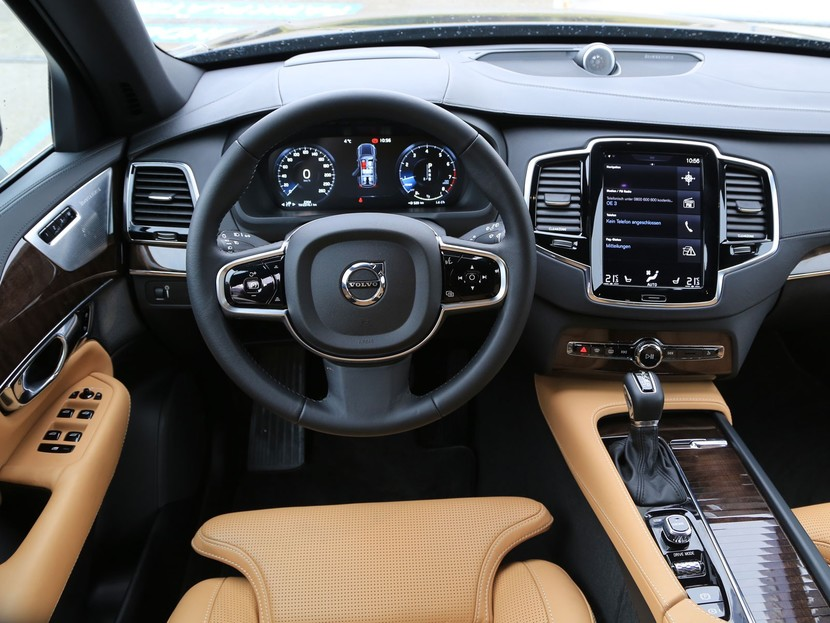 Volvo xc90 t6 awd geartronic inscription testbericht 028