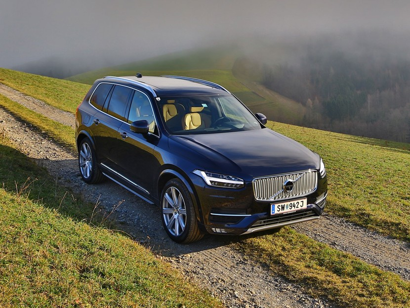 Volvo xc90 t6 awd geartronic inscription testbericht 031