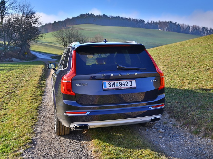 Volvo xc90 t6 awd geartronic inscription testbericht 032
