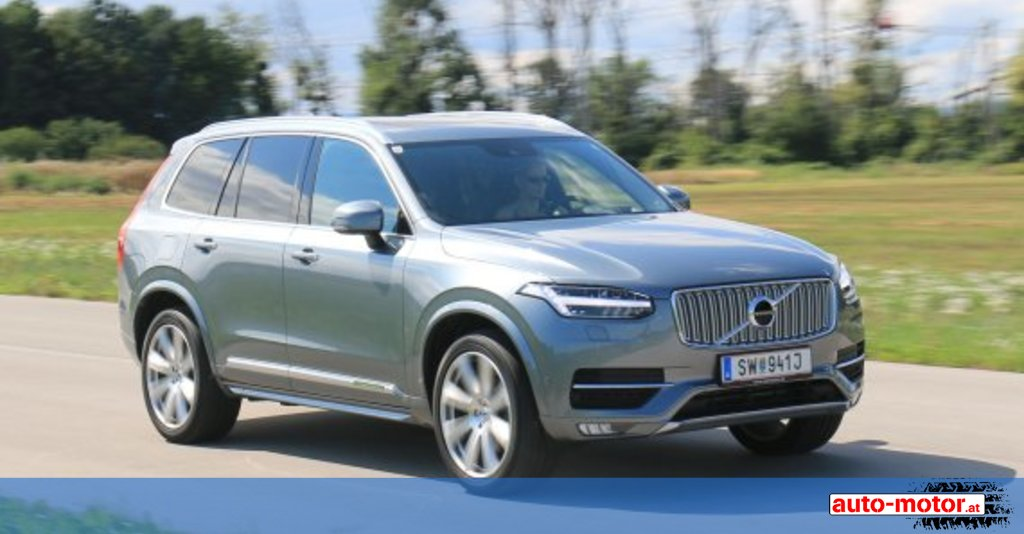 der neue volvo xc90 d5 awd testbericht auto. Black Bedroom Furniture Sets. Home Design Ideas