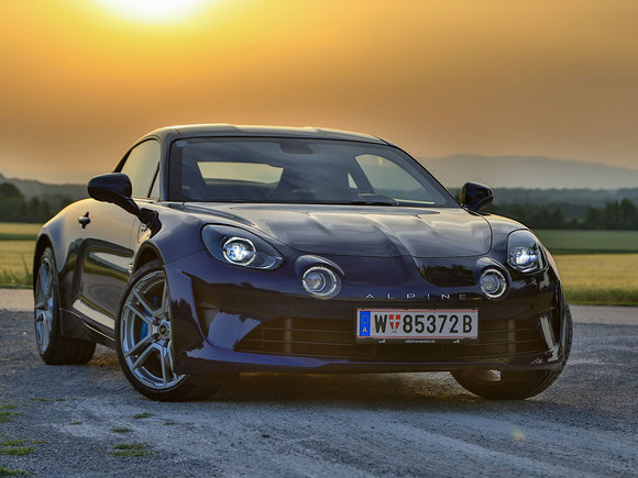 Alpine A110 Pure Test