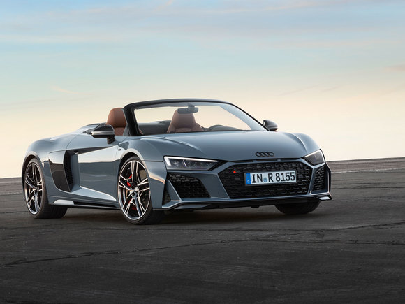 Audi R8 Facelift Spider