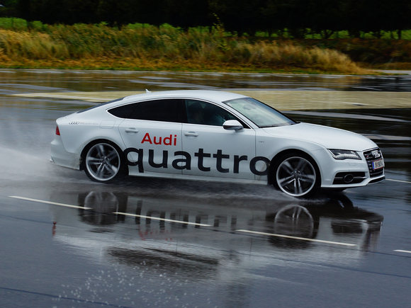 Audi S7 in Action