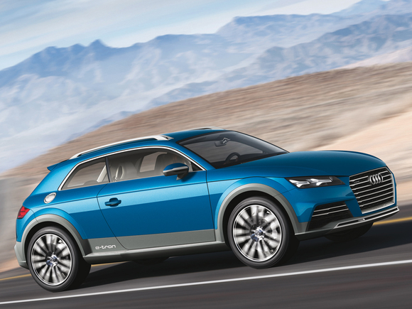 Audi allroad shooting brake