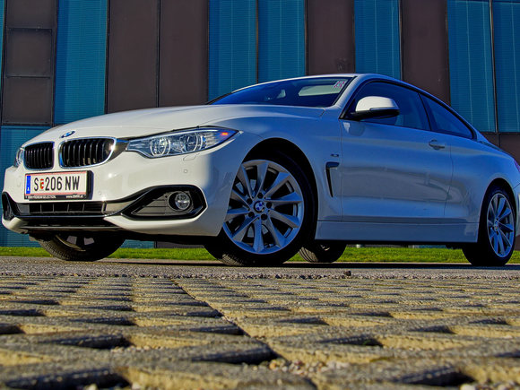 BMW 420d Coupé Test