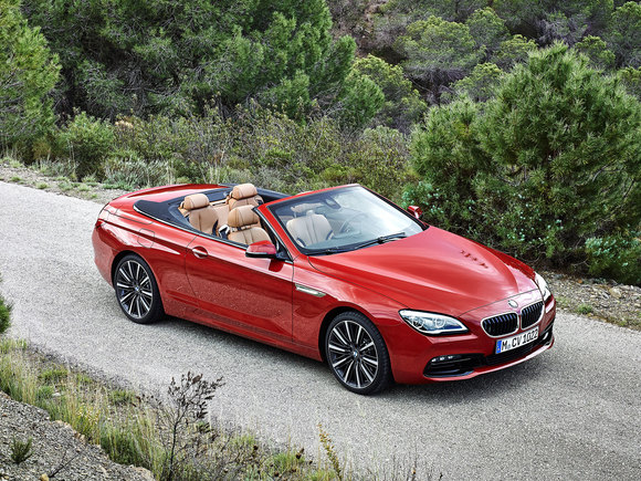 BMW 6er Cabrio Facelift