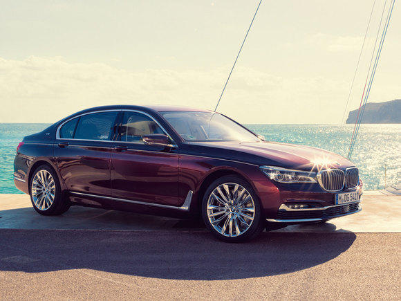 BMW M760Li inspired by Nautors Swan