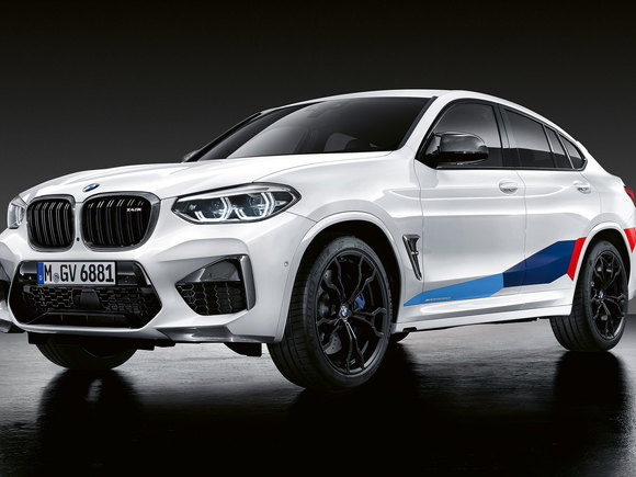 BMW X4 M Performance Parts