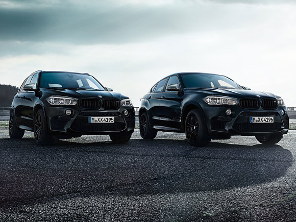 BMW X5 X6 Black Fire