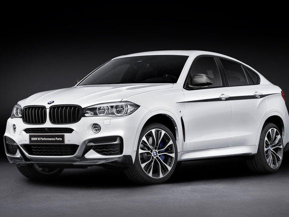 BMW X6 mit M Performance Parts