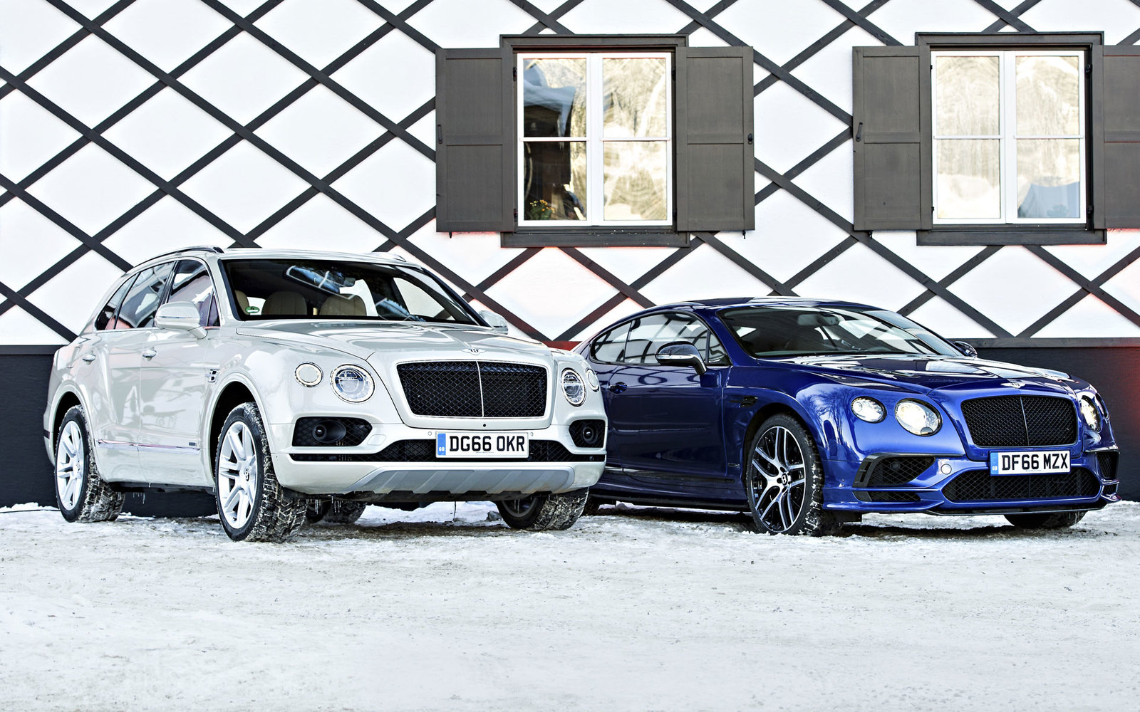 Bentley Bentayga und Continental