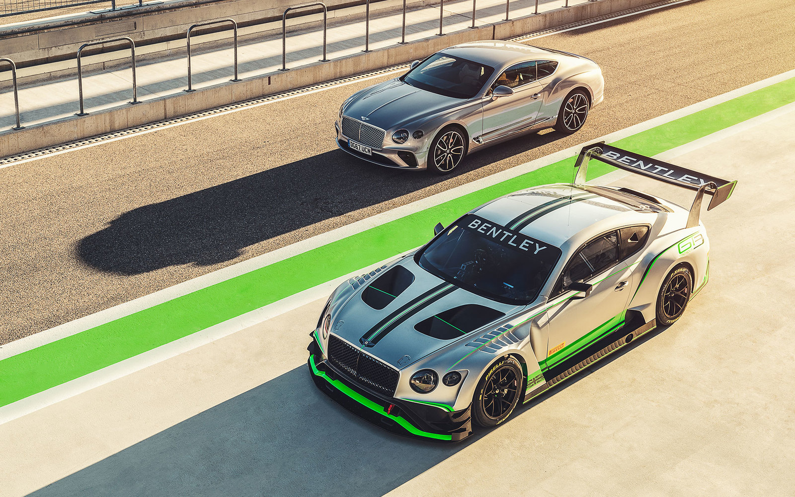 Bentley Continental GT und GT3