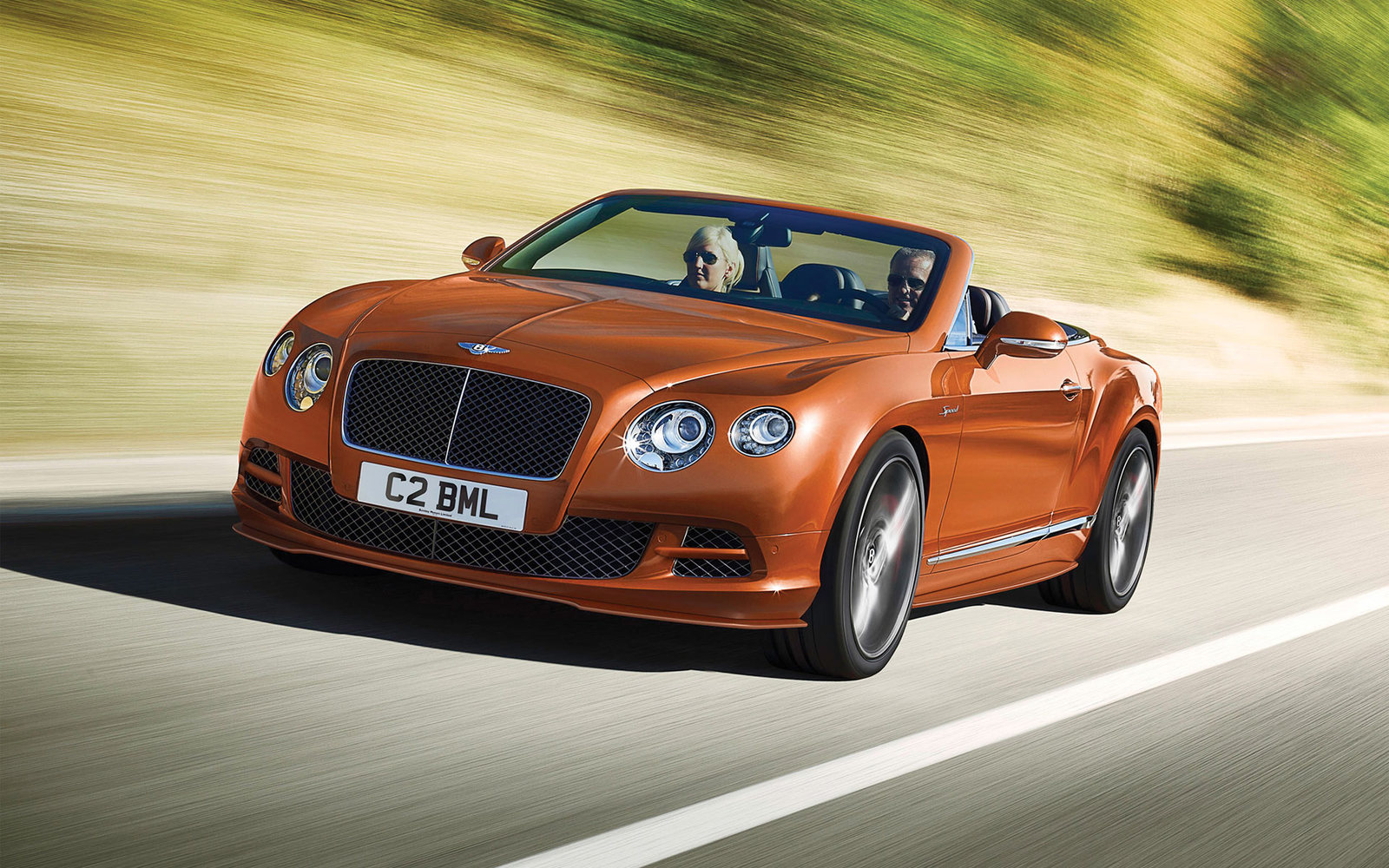 Bentley Continental GT Speed Cabrio FL