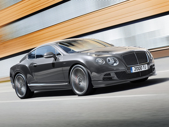 Bentley Continental GT Speed Facelift