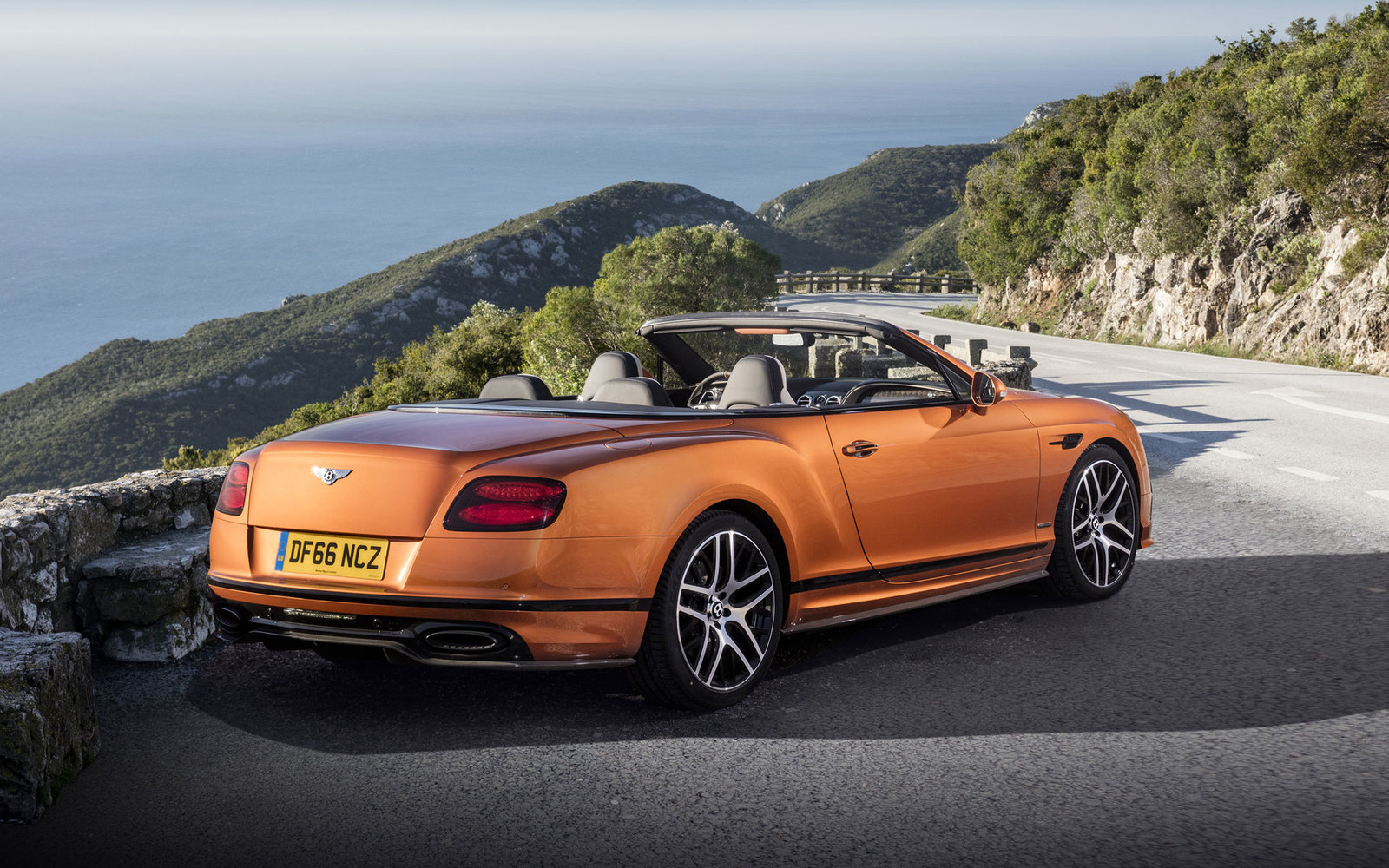 Bentley Continental Orange Flame